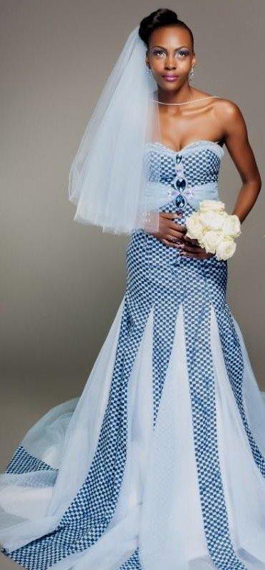 9 Stylish Ankara Detailed Wedding Gowns For Brides-to-be | KOKO Brides