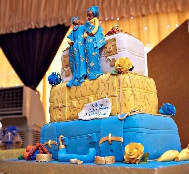 Interesting! 13 Creative Nigerian Traditional Wedding Cakes | KOKO ...