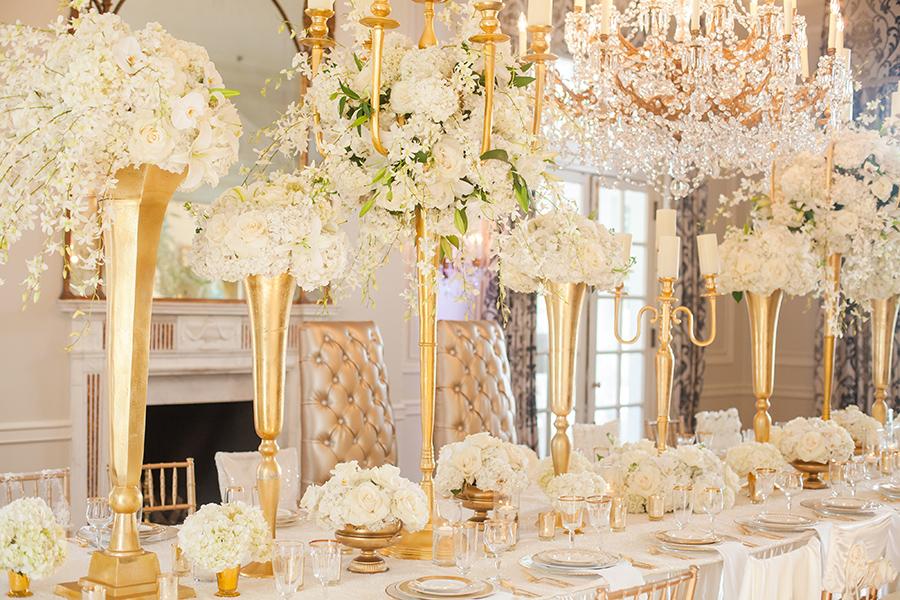 Wedding Colours All Gold Wedding Party Theme Inspiration Koko