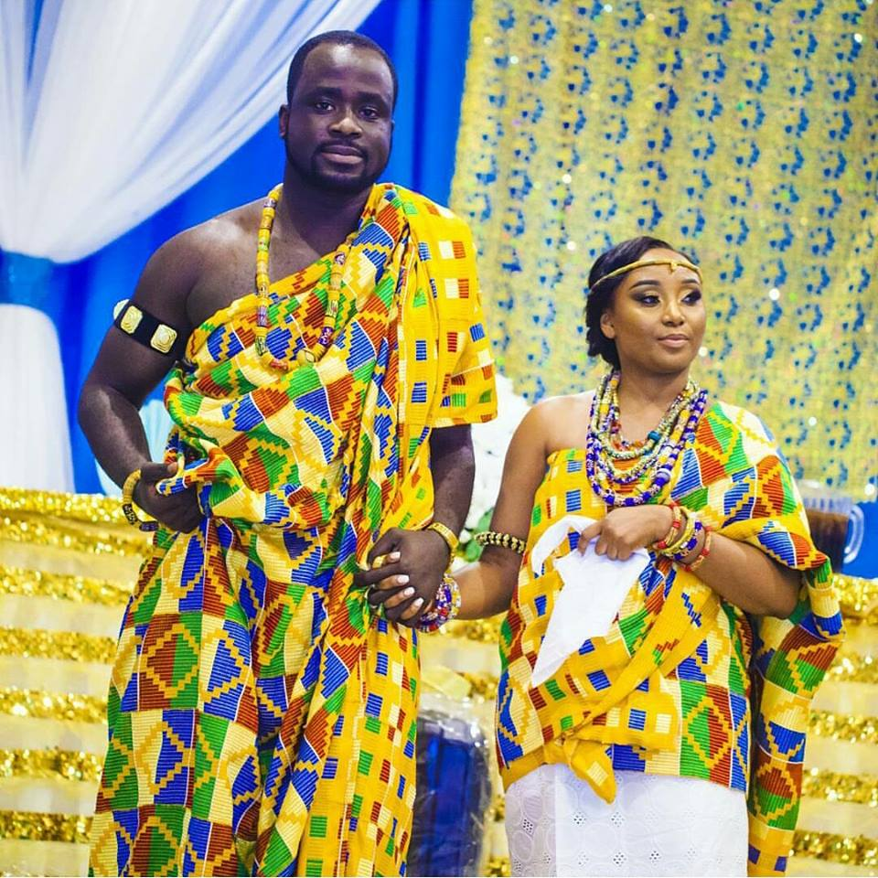 Ghanaian Traditional Wedding: Latest Kente Styles For Ghanaian Brides