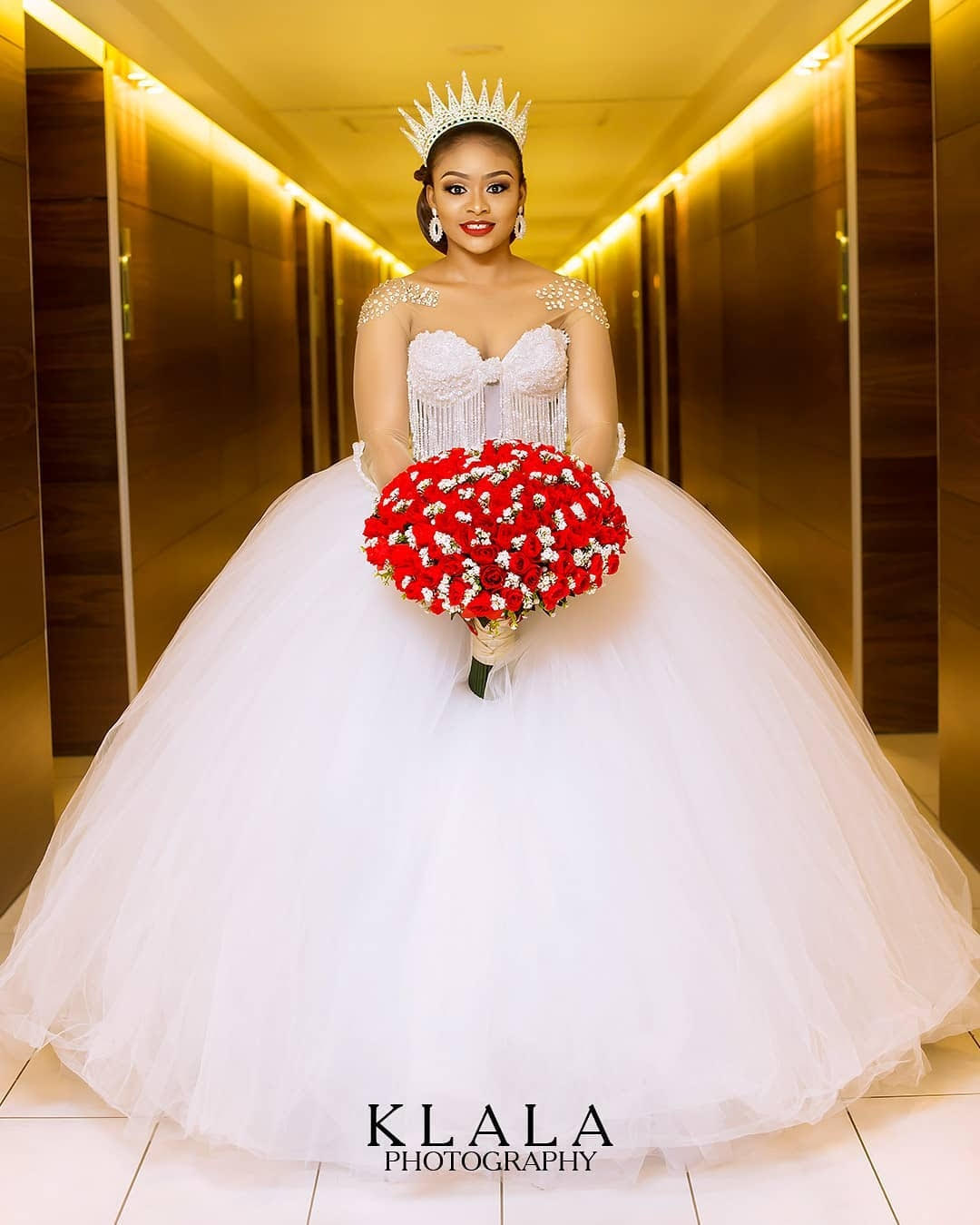 Latest Nigerian Wedding Gown Inspirations