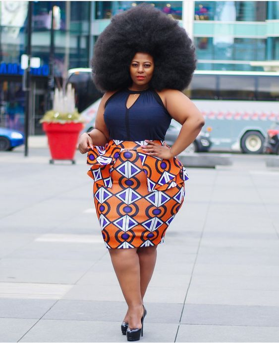 6bbe43ca98 We are back with these latest Ankara styles for plus size.
