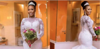 41f6eb3f2dd See The 2018 Wedding Gown Style That Stormed Nigerian Wedding Scenes