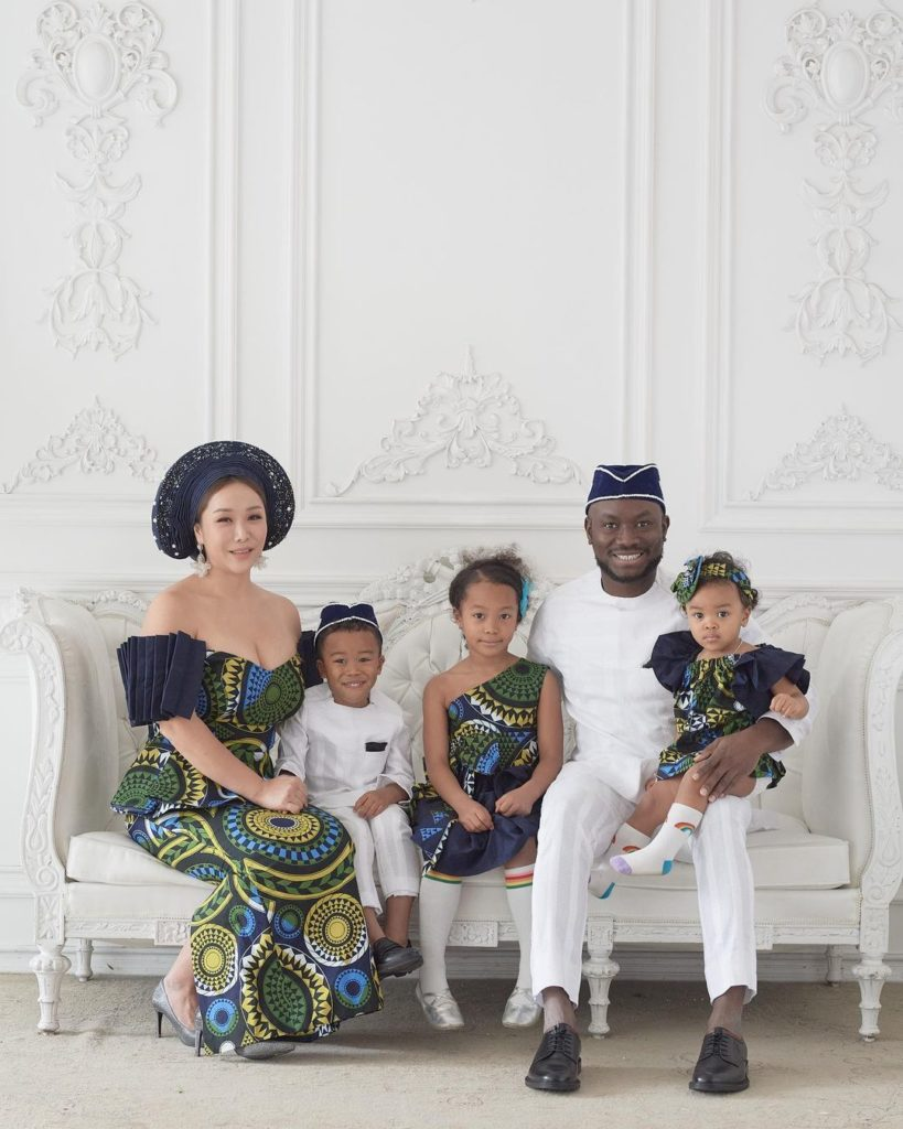 Felix And Soyoung Paul's Nigerian-Korean Family Is All Shades Of Goals
