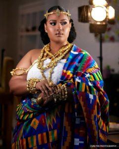 Ghanaian Bridal Makeup