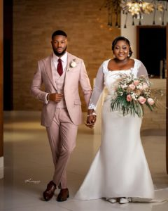 Nollywood Sweethearts Stan Nze And Blessing Obasi Walk Down The Aisle