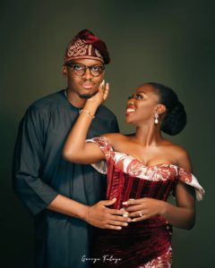 Ayomide And Tunde Pre-wedding Photos