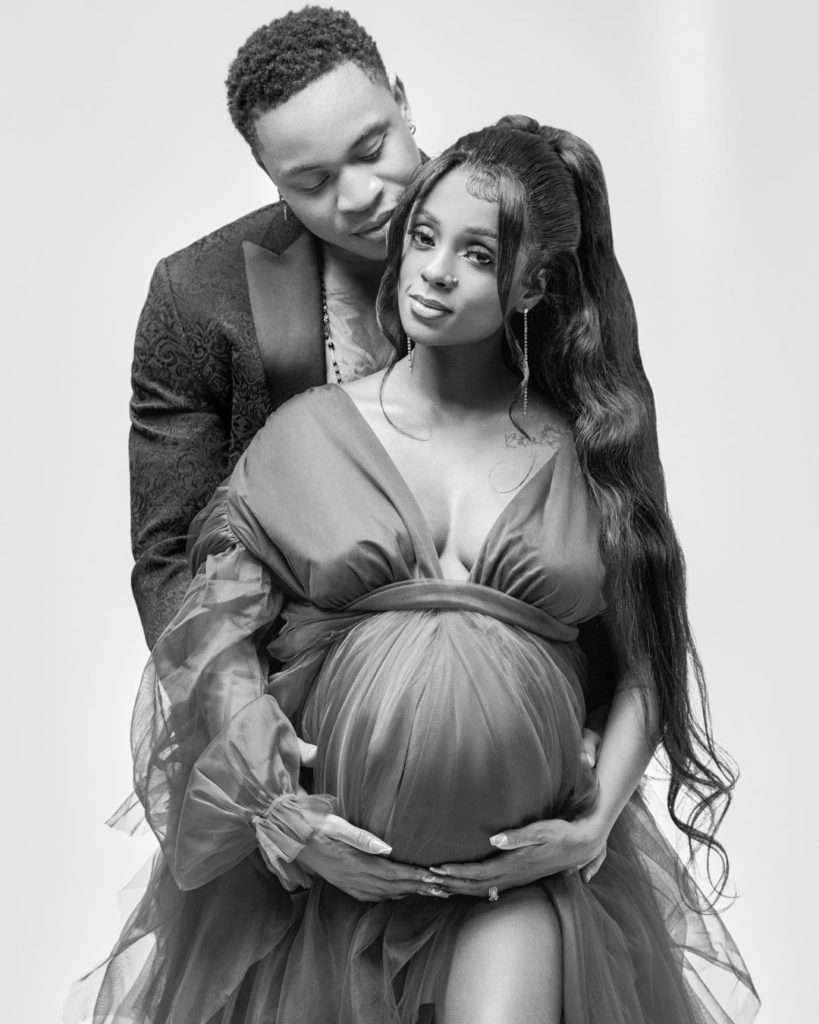 Power Star Rotimi And Tanzanian Star Vanessa Mdee Have A Bun In The Oven