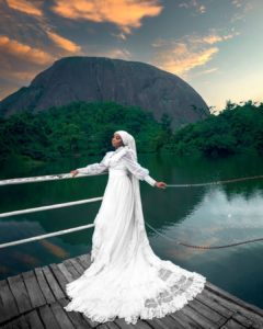 Muslimah Bridal Dress Is Just Perfect for The Nikkai Wedding Ceremony
