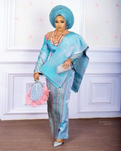 Wedding Guest Style: Mercy Aigbe Is The Queen Of Aso Ebi Fashion