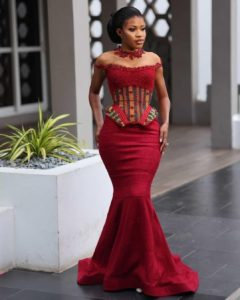 15 Stylish Kente Styles For Ghanaian Brides