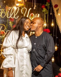 Ameenah And Seyi's Proposal And Love Story