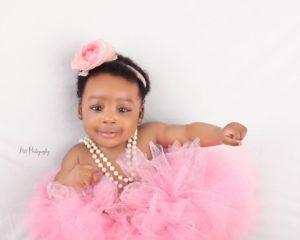 Tomike Adeoye Mini Me Is A Charming Beauty In These Baby Photos